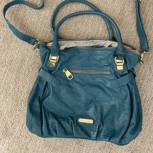 Steve Madden turquoise shoulder bag